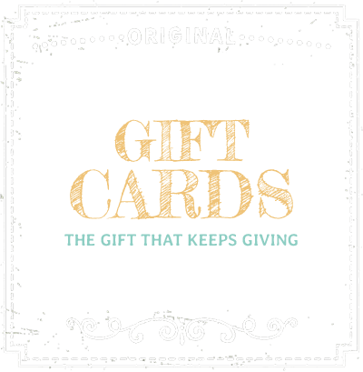 Gift Cards - The Gift that Keeps Giving